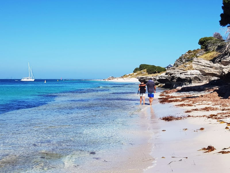 Carnac Island sailing charters Fremantle