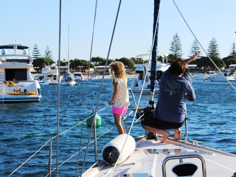 Family sailing tours Perth