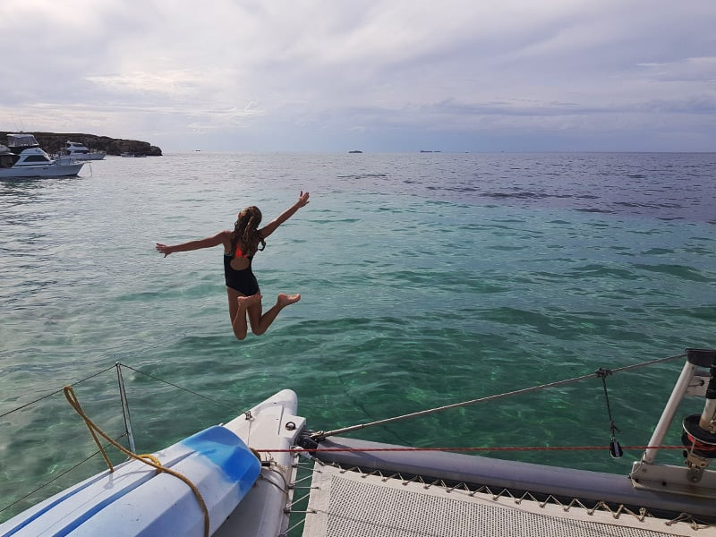 Summer sailing experiences Rottnest Island