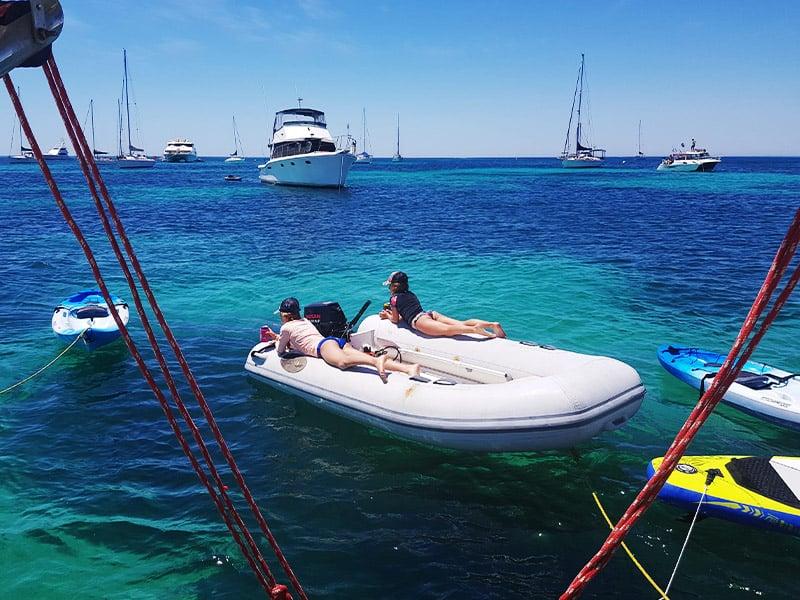 Summer sailing lessons Perth