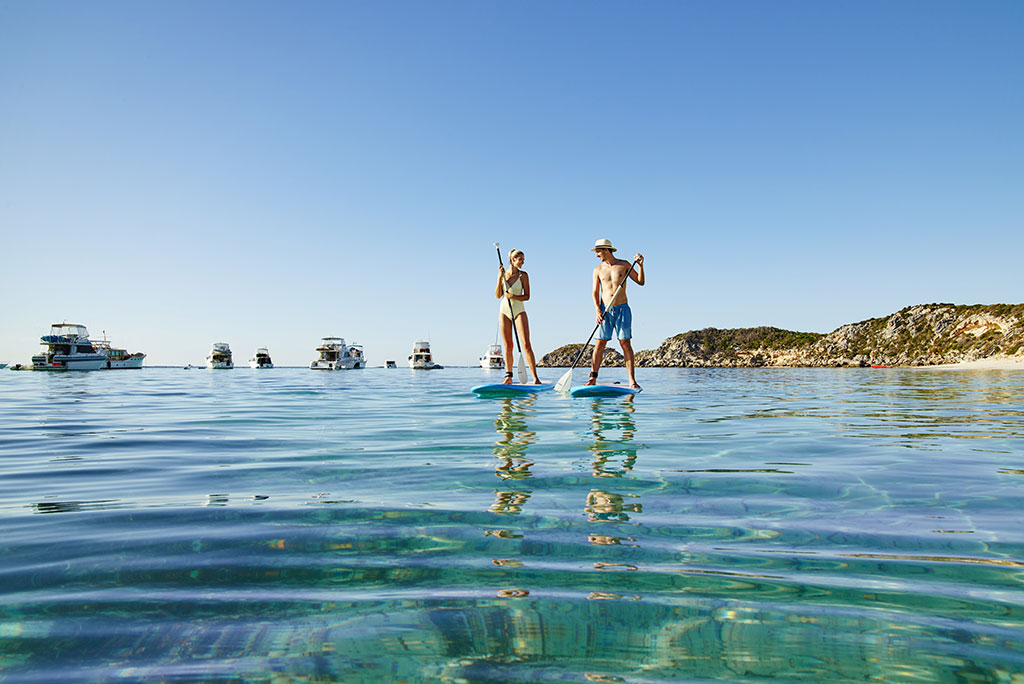 SUP Hire Aquaplay Rottnest